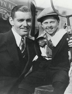 Clark Gable and Mickey Rooney