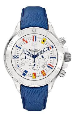 Nautica - NST Ceramic Chronograph