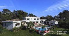 A Large Modern Villa with Pool and View in Castellaras
