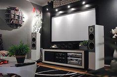 #hometheater #projector home theatre, surround sound, plasma tv, recliner sofa, acoustics, wall paneling, carpeting, false ceiling, lighting design, entertainment unit , seating , interior design