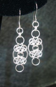 Idea only - Elegant Sterling Silver Earrings
