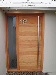 Front door ideas - simple, modern