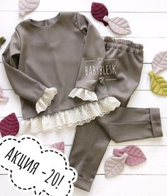 No photo description available. Baby Girl Fashion, Kids Fashion, Dress Anak, Trendy Baby Clothes, Girl Outfits, Fashion Outfits, Mode Hijab, Little Girl Dresses, Kind Mode