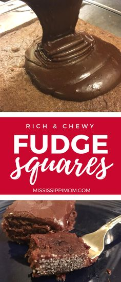 Rich and Chewy Fudge