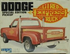MPC Dodge Special Edition LIl Red Express box art