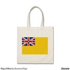 Flag of Niue Budget Tote Bag