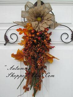 Hey, I found this really awesome Etsy listing at https://www.etsy.com/listing/475949951/fall-wreath-alternative-fall-door-decor