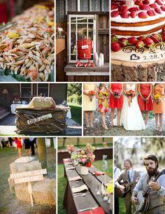 Crab boil wedding
