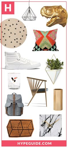 HypeGuide.com picks of the week. || modern design, modern home accents, modern decor