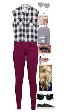 """""""Untitled #268"""" by rhay-q ❤ liked on Polyvore featuring Great Plains, Tiffany & Co., Vans, Carolee and Maxine"""