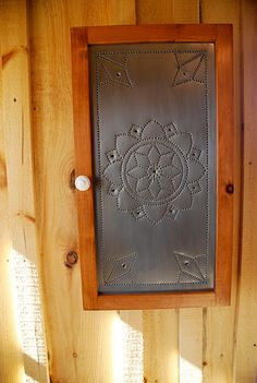 Superior Punched Tin Panel Spice Cabinets
