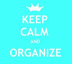Just keep breathing and maintaining your vision of an organized space...