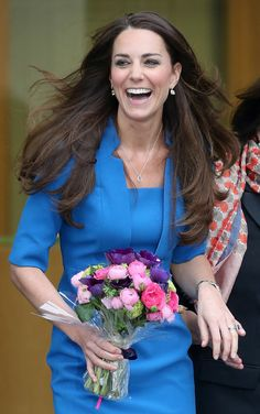 Kate Middleton - love her! We need more positive role models like her here in the states!
