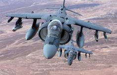 AV-8B Harrier, U.S. Marine Corps photo by Cpl. Gregory Moore