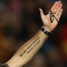 Referee Steve Walsh shows off a tattoo on his arm Rugby Tattoos, Piercing Tattoo, Piercings, Rugby Time, Union Tattoo, Steve Walsh, Soccer Referee, Rugby News, Arm Tattoos For Guys