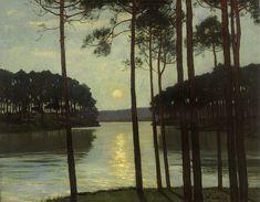 "Walter Leistikow ""Evening Mood at Schlachtensee"""
