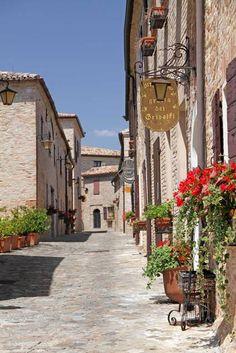 Montegridolfo, Rimini. Italy