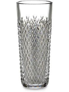 "Waterford Crystal Alana 10"" Vase ❤ Wedgwood"