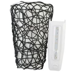 This It's Exciting Lighting Sconce is the perfect solution for those areas that do not have an electrical outlet. This unique fluted design with interlocking wicker twine instantly adds warm ambiance and a practical lighting solution to any setting. This wall light quickly and easily enhances the atmosphere and character of your home, office or apartment, allowing you to redecorate or brighten any room. Battery-operated, lightweight and mobile, it is the perfect lighting solution to fit any…