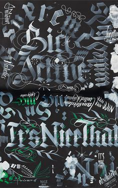 3 | Meet A Master Of The Dying Art Of Hand-Drawn Type | Co.Design | business + design