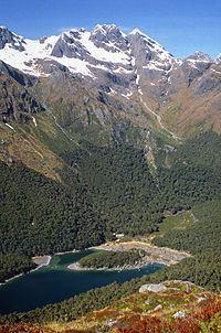 Most beautiful New Zealand hikes Tui and Rimu Trips #newzealandhikes #tuitrip #rimutrip MackenzieHut.jpg  - Routeburn Track