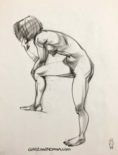 Figure Drawing 11/13/14 I'm thinking of switching medium for a little bit. I…