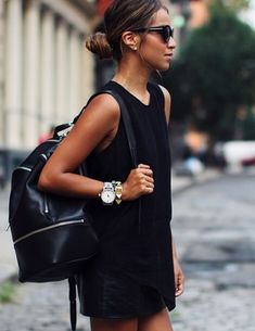 Black in summer