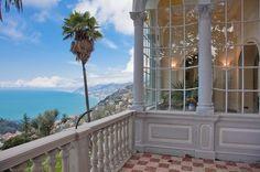 Art Nouveau villa near Portofino