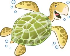 Stickers Murali Bambini Camerette Tartaruga marina