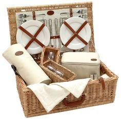 Luxury picnic basket