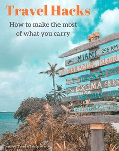 Travel Hacks: How to make the most of what you carry |Travel Tech Gadgets