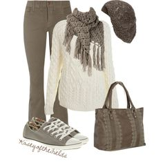 Winter White, created by kaseyofthefields on Polyvore