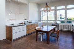 Loft Wohnung | Hamburg St. Georg | Minimalistische Küche