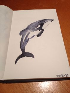 Water Paint whale