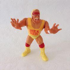 Hulk Hogan - Hulk Rules - Hulkmania - Vintage Action figure - Titan Sports - WWE - Monday night raw by TheWhatNaught on Etsy