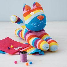 Sock Kitty Craft Kit