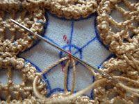 Thread Head: Romanian Point Lace Tutorial