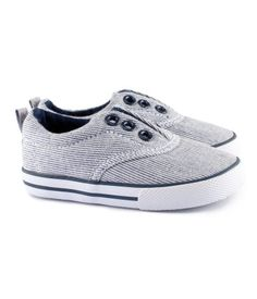 Canvas sneakers with rubber soles