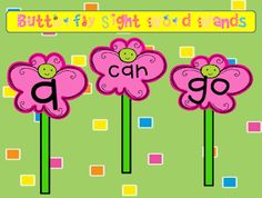 """FREE LANGUAGE ARTS LESSON - """"Sight Word Wands: Butterflies"""" - """"Fairies"""" and """"Wizards"""" use the wands to reinforce sight words.  Go to The Best of Teacher Entrepreneurs for this and hundreds of free lessons.   Pre-Kindergarten - Kindergarten   #FreeLesson   #TeachersPayTeachers   #TPT   #LanguageArts    http://www.thebestofteacherentrepreneurs.net/2013/01/free-language-arts-lesson-sight-word_23.html"""