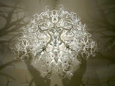 Surrealistic Chandelier With A Mirroring Effect | DigsDigs