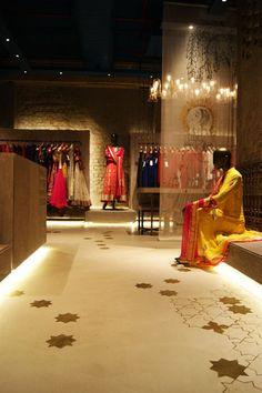 Anju Modi Store, flooring