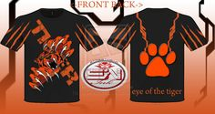 eye of the tiger t-shirt designed by streetwearink by ~StreetWearinc on deviantART