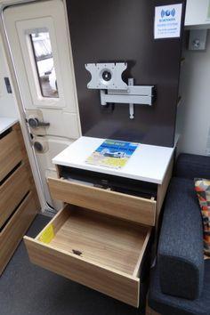 2018 Adria Action 361 LT, Single Axle, 2 berth, End Kitchen Caravane Adria, Caravans, Campers, Centre, Action, Storage, Furniture, Home Decor, Purse Storage