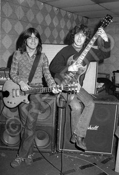 Malcolm & Angus Young of AC/DC
