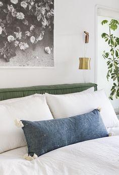 Sarah Sherman Samuel:DIY Cotton Lumbar Pillow | Sarah Sherman Samuel