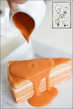 Thai milk tea on Pinterest | Thai tea, Thai milk tea and Crepe cake ...