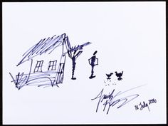 Isaiah Washington: Actor's Doodle for Hunger Benefiting St Francis Food Pantries and Shelters Black marker - Available at 2013 August 4 Doodle for Hunger. Isaiah Washington, St Francis, Heart Art, Doodles, Auction, Actors, Saint Francis, San Francisco, Doodle