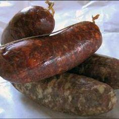 Italian Sausage - Tuscan Style
