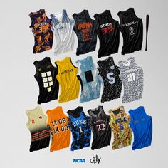 DEAD DILLY x March Madness Jersey Rebrand Project