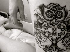 Owl #tattoo